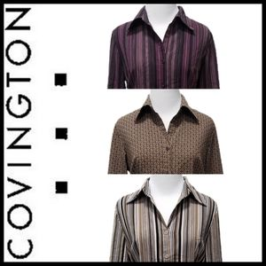 Covington Button Down Blouse Bundle